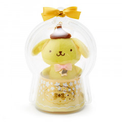 Japan Sanrio Mini Plush (S) in Case - Pompompurin