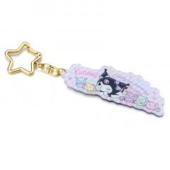 Japan Sanrio Acrylic Charm Key Chain - Kuromi