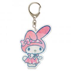 Japan Sanrio Sparking Hologram Charm Key Chain - My Melody