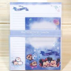 Japan Disney Letter Envelope Set - Tsum Tsum in Dream