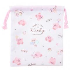 Japan Nintendo Drawstring Bag - Kirby White