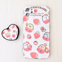Sumikko Gurashi Bear Friends Phone Case Strawberry - iPhone 11