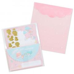 Japan Sanrio Letter Set - Little Twin Stars / 45th Anniversary Baby Dream