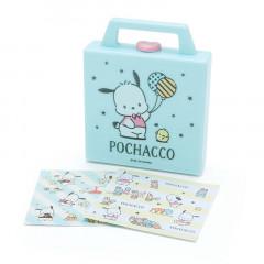 Japan Sanrio Square Cased Memo - Pochacco