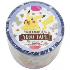 Japan Pokemon Yojo Masking Tape - Pikachu & Eevee
