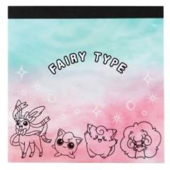 Japan Pokemon Memo Pad - Fairy Type Friends