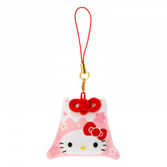 Japan Sanrio Mount Fuji Mascot Keychain - Hello Kitty