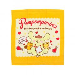 Sanrio Handkerchief Wash Towel - Pompompurin