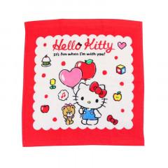Sanrio Handkerchief Wash Towel - Hello Kitty