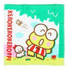 Sanrio Handkerchief Wash Towel - Keroppi