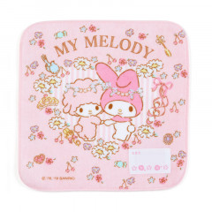 Japan Sanrio Handkerchief Petit Towel - My Melody