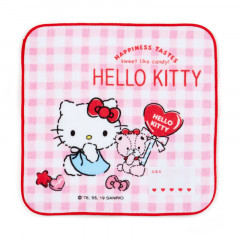 Japan Sanrio Handkerchief Petit Towel - Hello Kitty
