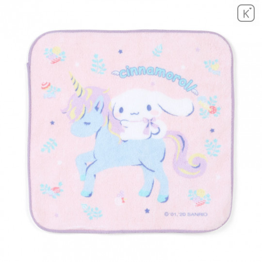 Japan Sanrio Handkerchief Petit Towel - Cinnamoroll - 1