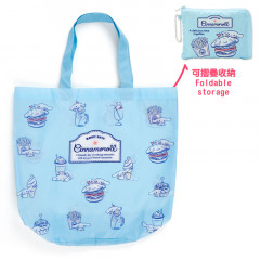 Japan Sanrio Eco Shopping Bag (M) - Cinnamoroll