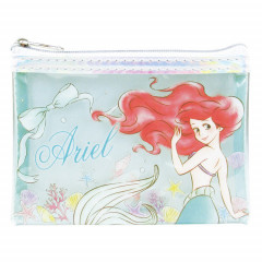 Japan Disney Clear Makeup Pouch Bag (S) - Little Mermaid Ariel