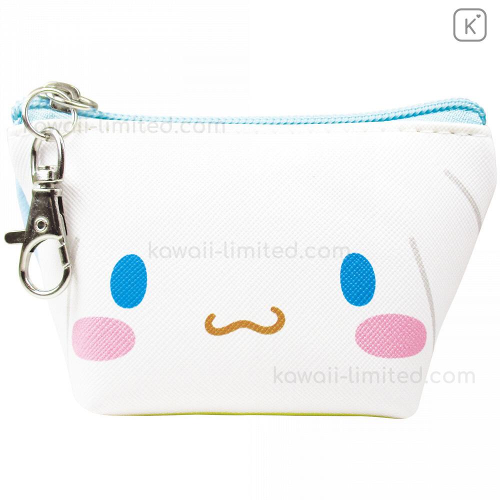Cinnamoroll mini Bag Pouch Double Zipper Prize SANRIO New Kawaii Japan
