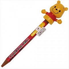 Japan Disney Big Moving Hands Ball Pen - Pooh