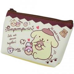 Japan Sanrio Mini Pouch (S) - Pompompurin
