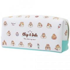Japan Disney Pouch Makeup Bag Pencil Case - Chip & Dale