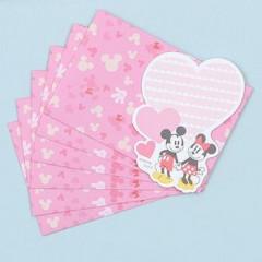 Japan Disney Message Card - Mickey & Minnie