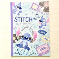 Japan Disney B5 Notebook - Stitch