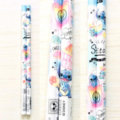 Japan Disney 2B Pencil - Stitch Pop Sweets