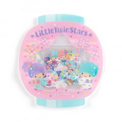 Sanrio Flake Stickers 40pcs - Japanese Little Twin Stars