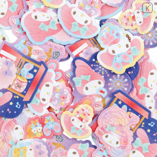 Sanrio Flake Stickers 40pcs - Japanese My Melody - 3