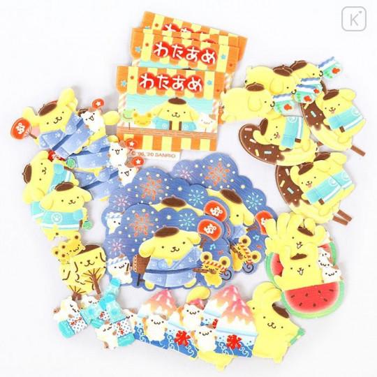 Sanrio Flake Stickers 40pcs - Japanese Pompompurin - 2