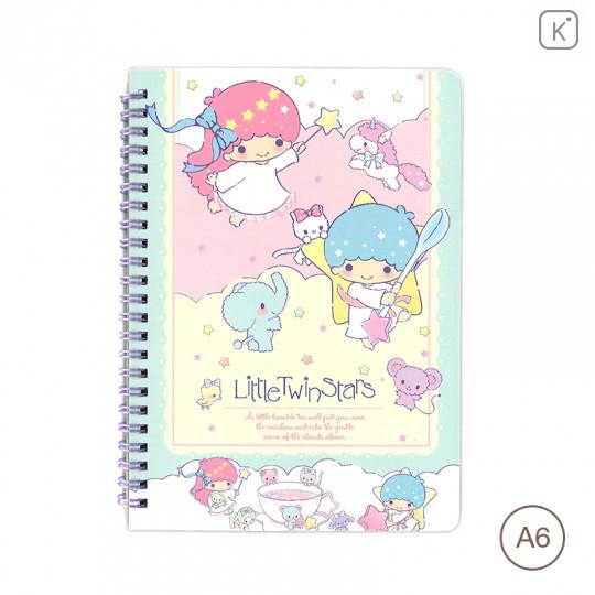 Sanrio A6 Notebook - Little Twin Stars - 1