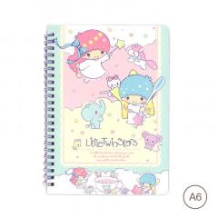 Sanrio A6 Notebook - Little Twin Stars