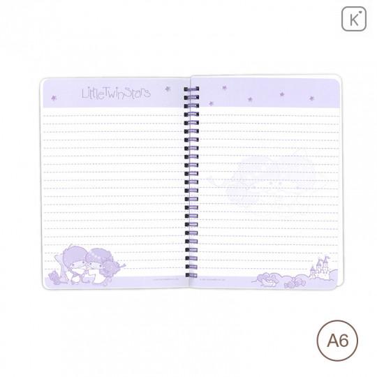 Sanrio A6 Notebook - Little Twin Stars - 3