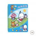 Sanrio A6 Notebook - Pochacco - 1