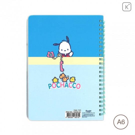 Sanrio A6 Notebook - Pochacco - 2