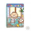 Sanrio A6 Notebook - Minna No Tabo - 1