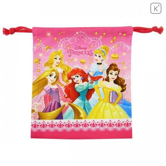 Japan Disney Drawstring Bag - Princess - 1