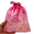 Japan Disney Drawstring Bag - Princess - 2