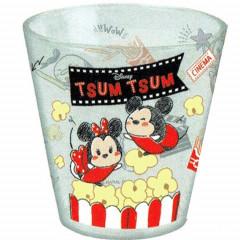 Japan Disney Glasses Cup - Tsum Tsum Popcorn