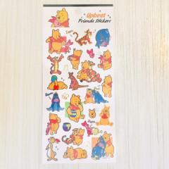 Japan Disney Seal Sticker - Winnie the Pooh & Friends