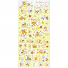 Japan San-X Rilakkuma Bear Seal Sticker - Easter Egg Korilakkuma