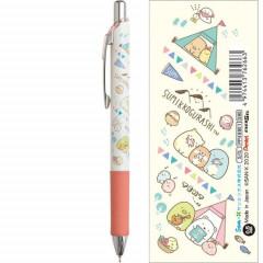 Japan San-X Sumikko Gurashi Pentel EnerGel 0.5mm Gel Pen - Camping White