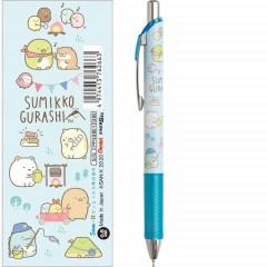 Japan San-X Sumikko Gurashi Pentel EnerGel 0.5mm Gel Pen - Camping Light Blue