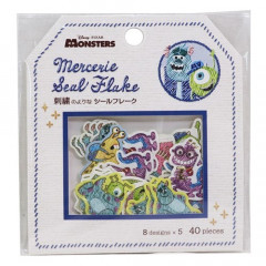 Japan Disney Masking Seal Flake Sticker - Monsters University
