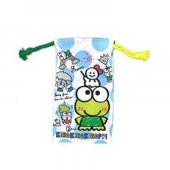 Sanrio Slim Drawstring Bag - Kerokerokeroppi