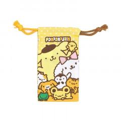 Sanrio Slim Drawstring Bag - Pompompurin