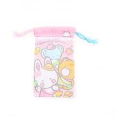 Sanrio Slim Drawstring Bag - Cheery Chums