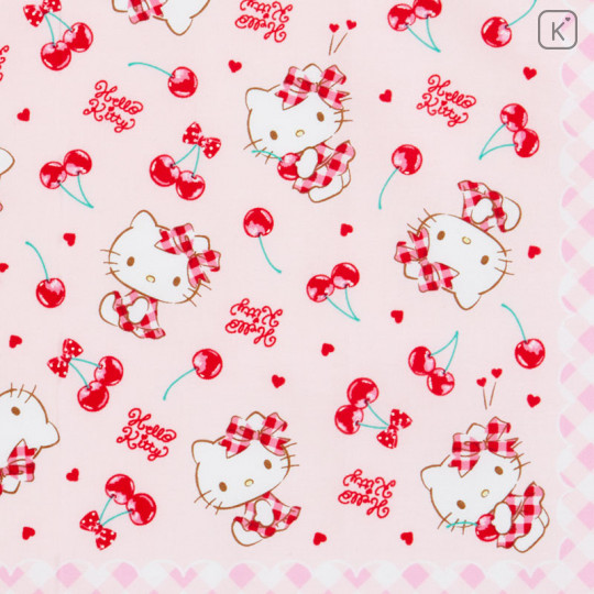 Japan Sanrio Handkerchief Wash Towel - Hello Kitty - 2