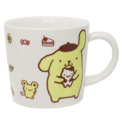 Japan Sanrio Pottery Mug - Pompompurin