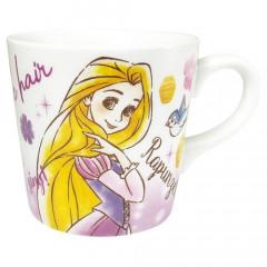 Japan Disney Princess Ceramic Mug - Rapunzel White