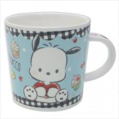 Japan Sanrio Pottery Mug - Pochacco Blue